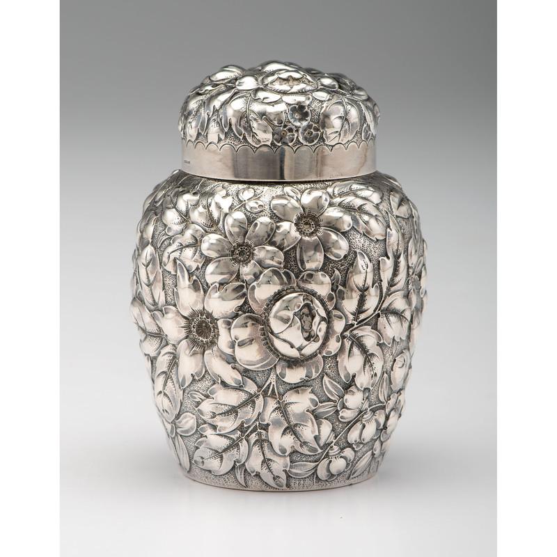 Gorham Sterling Silver Tea Caddy