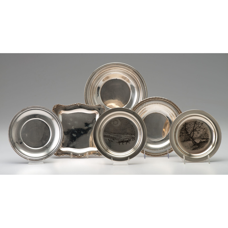 American Sterling Bowls and Tray, Plus