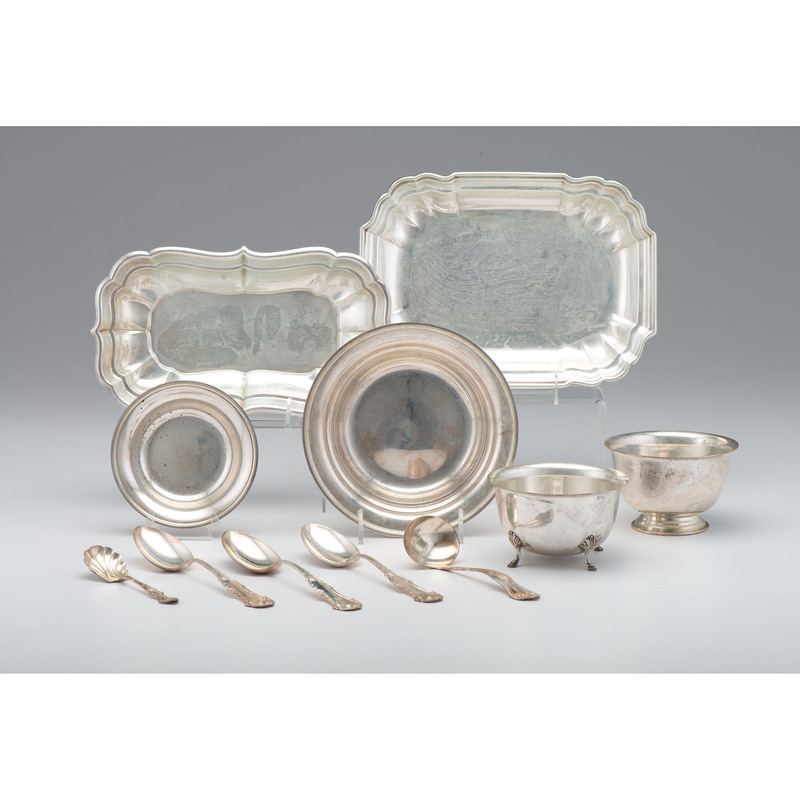 American Sterling Silver Tablewares