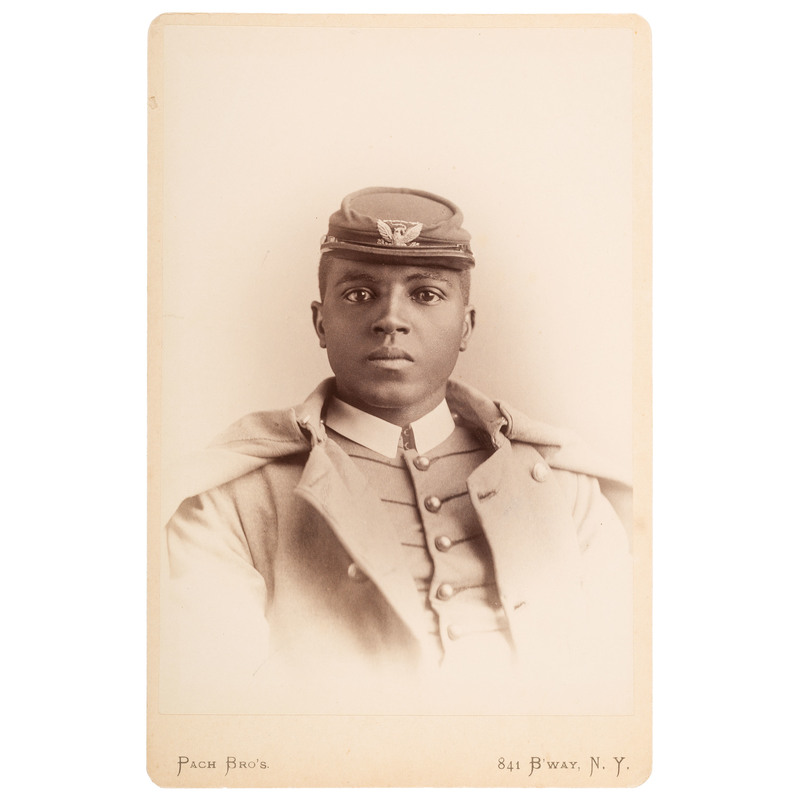 Charles Young Cabinet Card, ca 1889