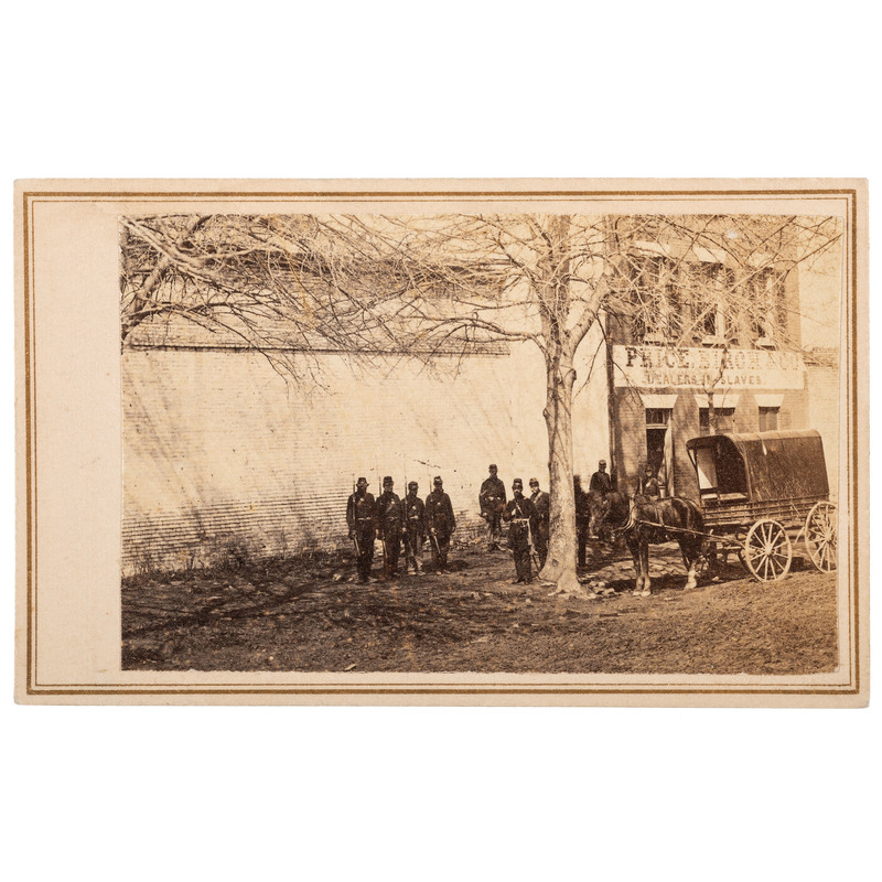 Mathew Brady CDV of Slave Dealer, Alexandria, Virginia