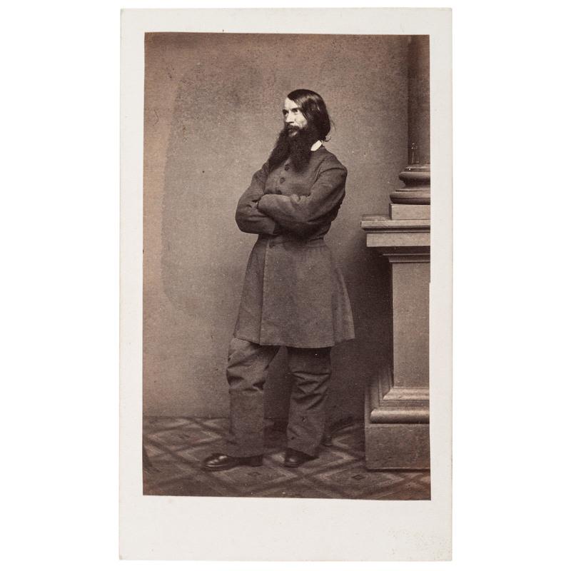 Thaddeus Hyatt, Abolitionist, Friend of John Brown, CDV, ca 1861