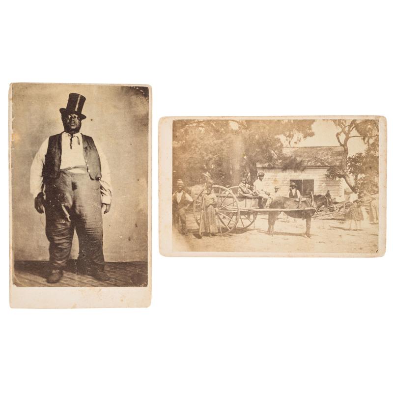 Portrait and Landscape CDVs from Gettysburg, Pennsylvania, ca 1870