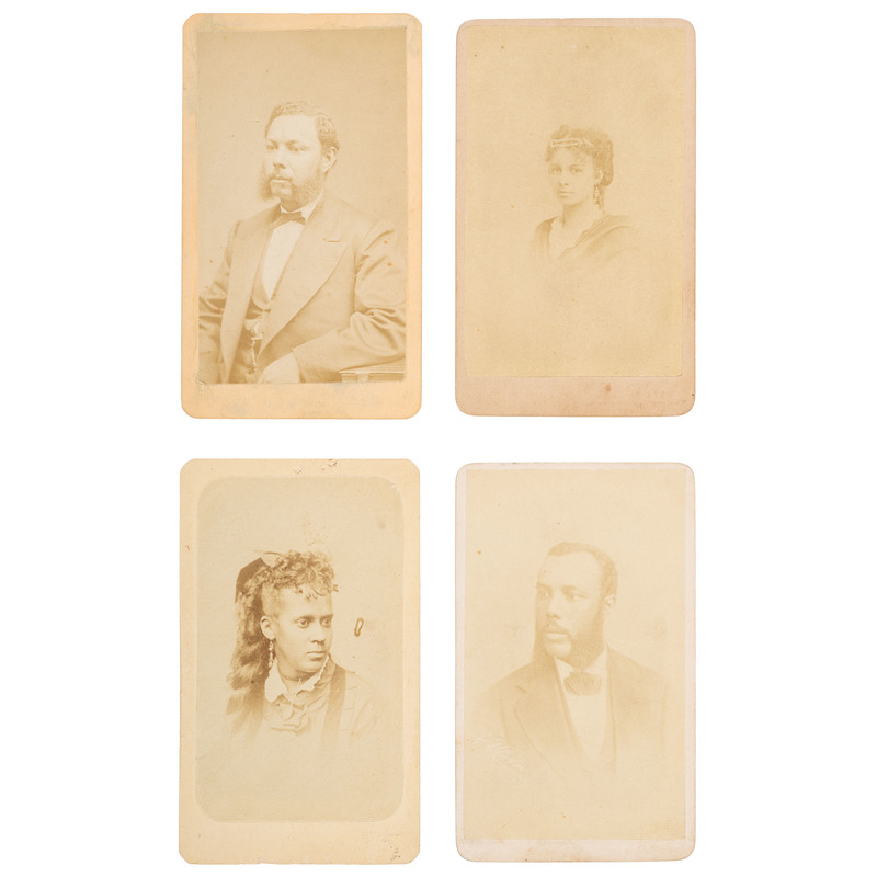 19 CDVs of African Americans, ca 1864-1870