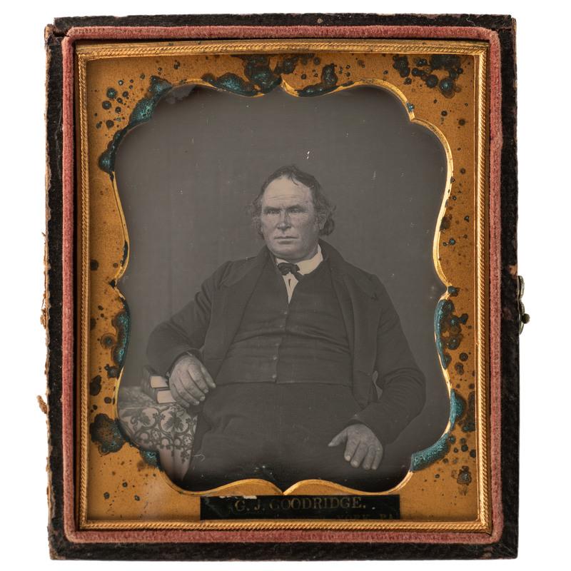 Glenalvin Goodridge Sixth Plate Daguerreotype Portrait