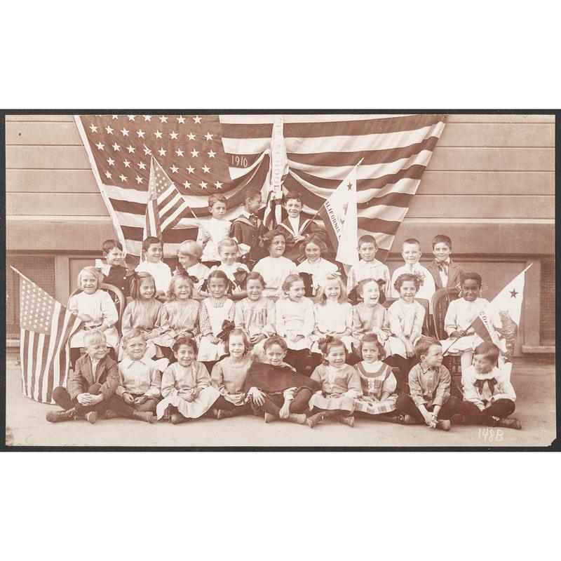 Hugo Weitz Cole School Children, Oakland, California, 1910