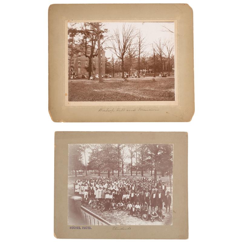 Oversize Photographs of Bishop College, Texas, ca 1900