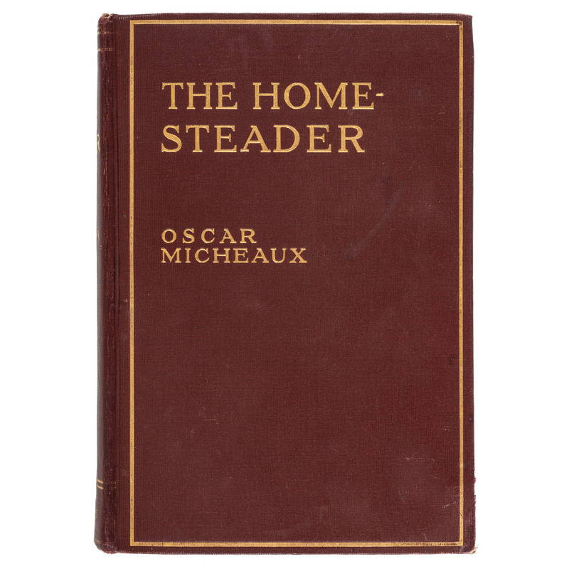 First Edition The Homesteader by Oscar Micheaux