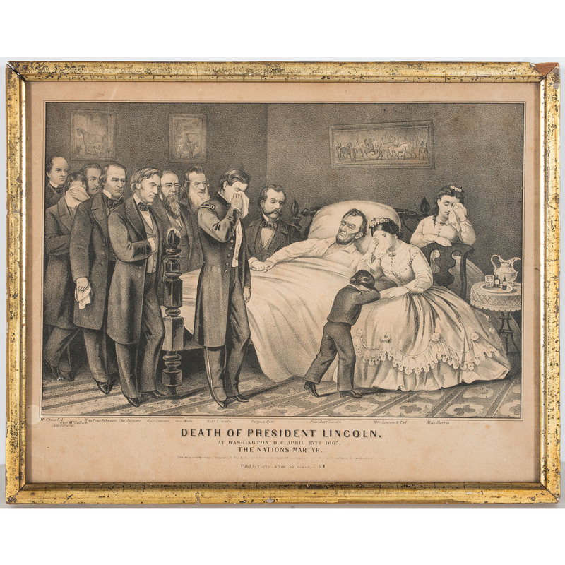 Death of President Lincoln by Currier & Ives, Plus