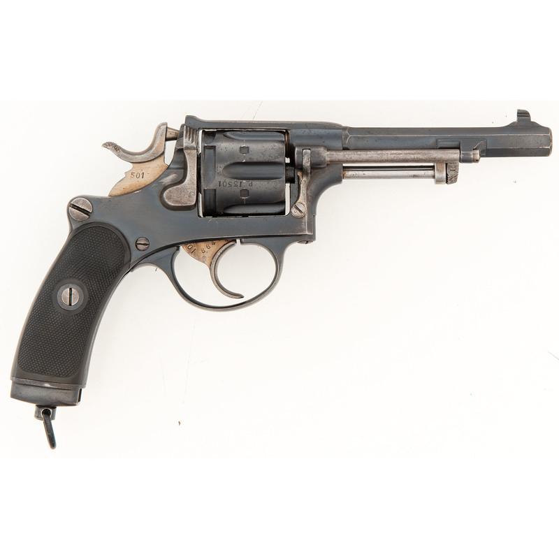 Swiss Schmidt Model 1882 Revolver