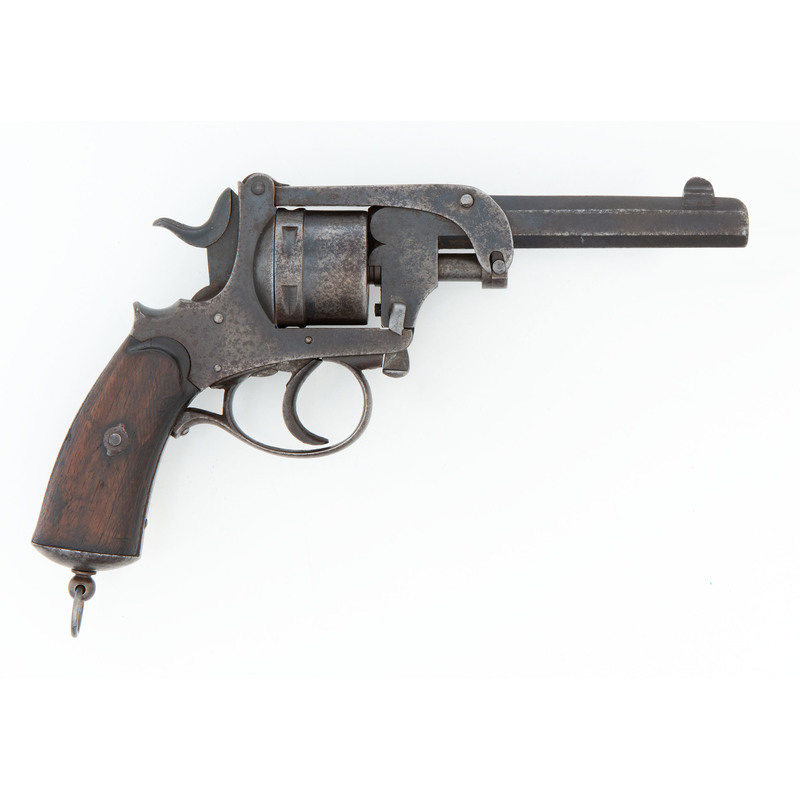 Brazilian Military Contract Gerard Patent Revolver by Kaufmann