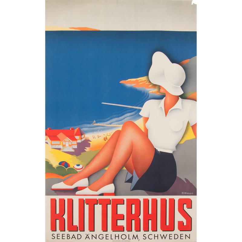 Ake Rittmark (20th Century) Klitterhus