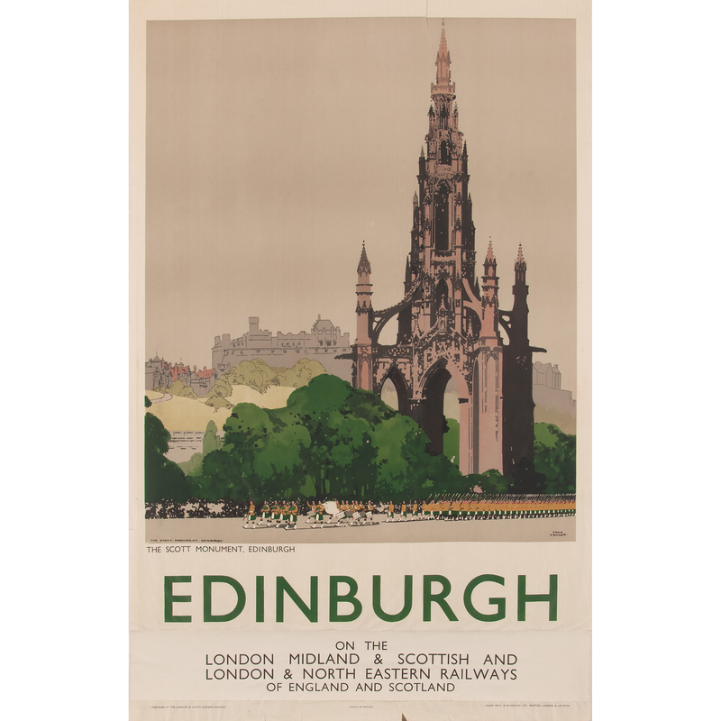 Fred Taylor (British, 1875-1963) Edinburgh