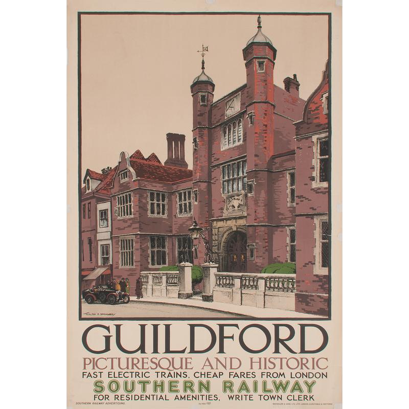 Walter E. Spradbery (British, 1889-1969) Guildford, Plus