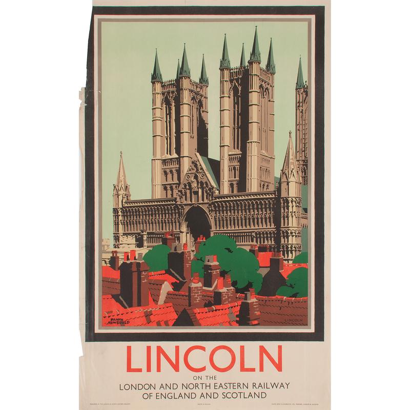 Frank Newbould (English, 1887-1950) Lincoln