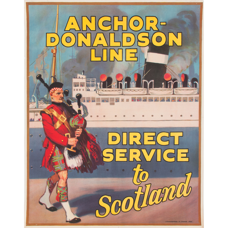 Canadian Travel Posters for Scotland