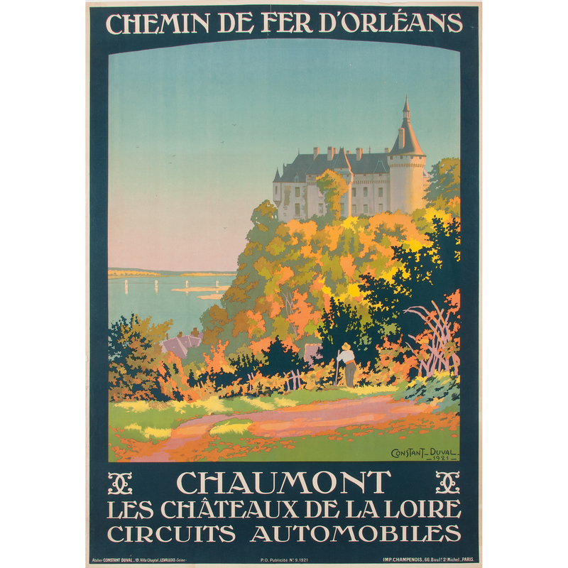 Leon Constant-Duval (French, 1877-1956) Chaumont