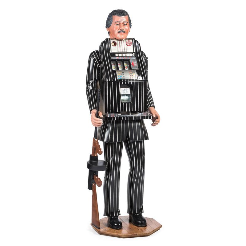 A Mills 25¢ Figural Mobster Slot Machine