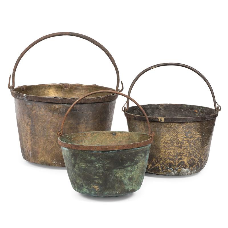 Brass Trade Kettles