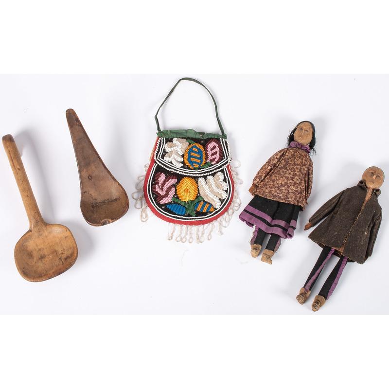 Haudenosaunee Wood Dolls, PLUS