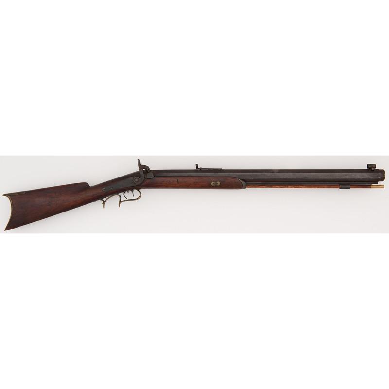 Percussion Single Shot Rifle by V. Glab.