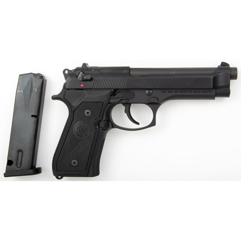 * Beretta M9 Pistol