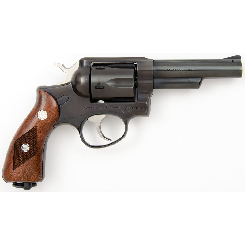* Ruger Model SS84L Double Action U.S. Military Revolver