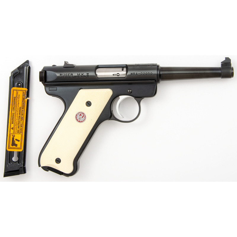 *Ruger Mark II NRA Commemorative Pistol