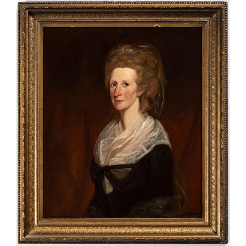 A Portrait of a Lady, After Thomas Gainsborough