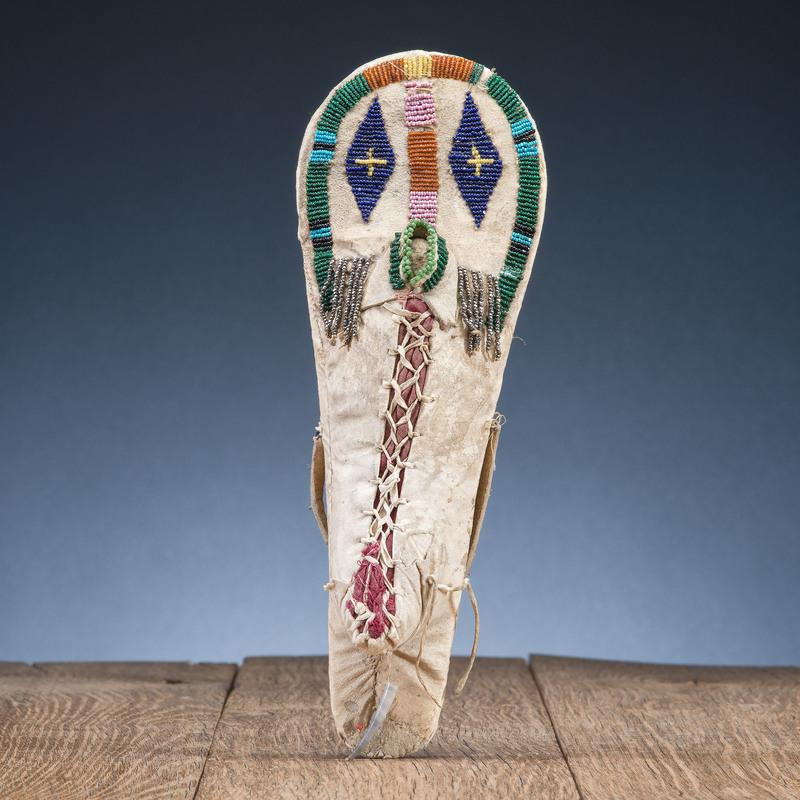 Nez Perce Beaded Doll Cradle