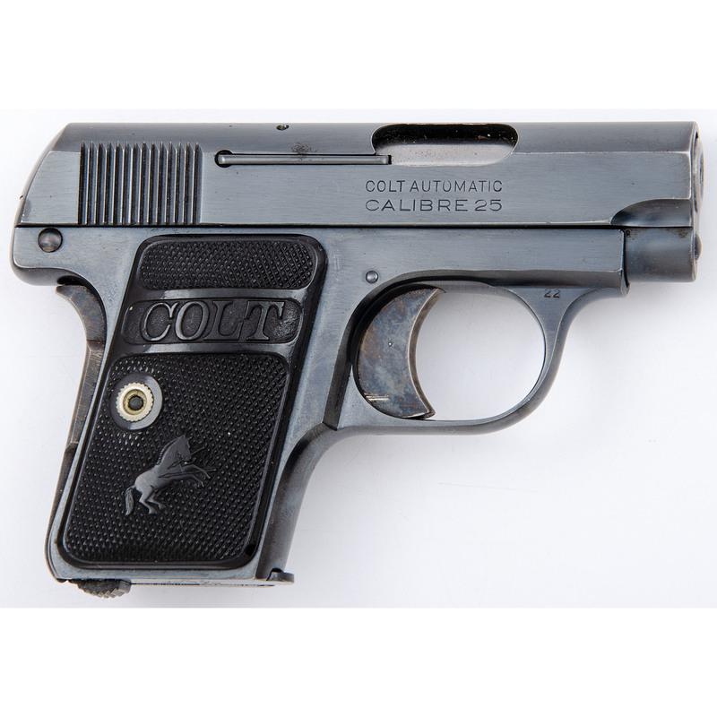* Colt Model 1908 .25 Automatic Pistol