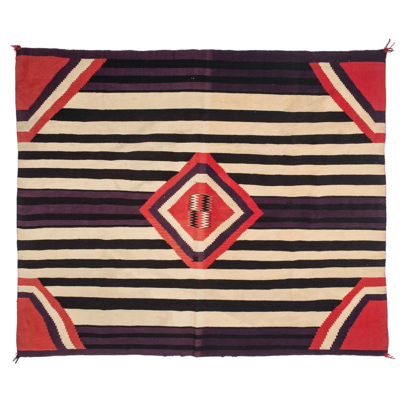 Navajo Germantown Third Phase Blanket / Rug