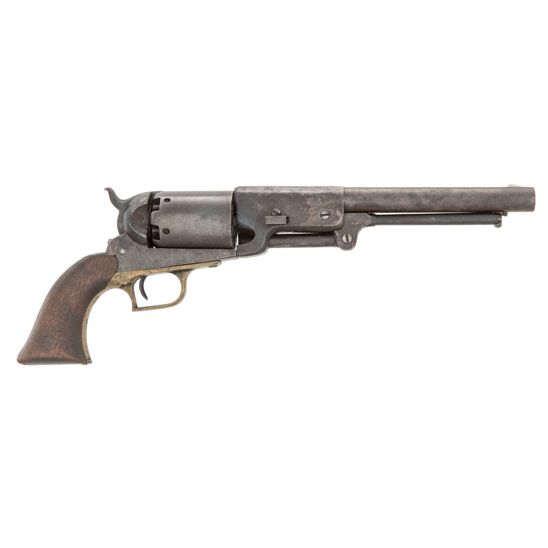 An Extremely Rare Colt Civilian Walker Revolver
