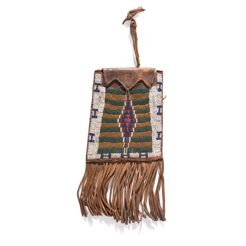 Arapaho Beaded Dispatch Case, From the Stanley B. Slocum Collection, Minnesota
