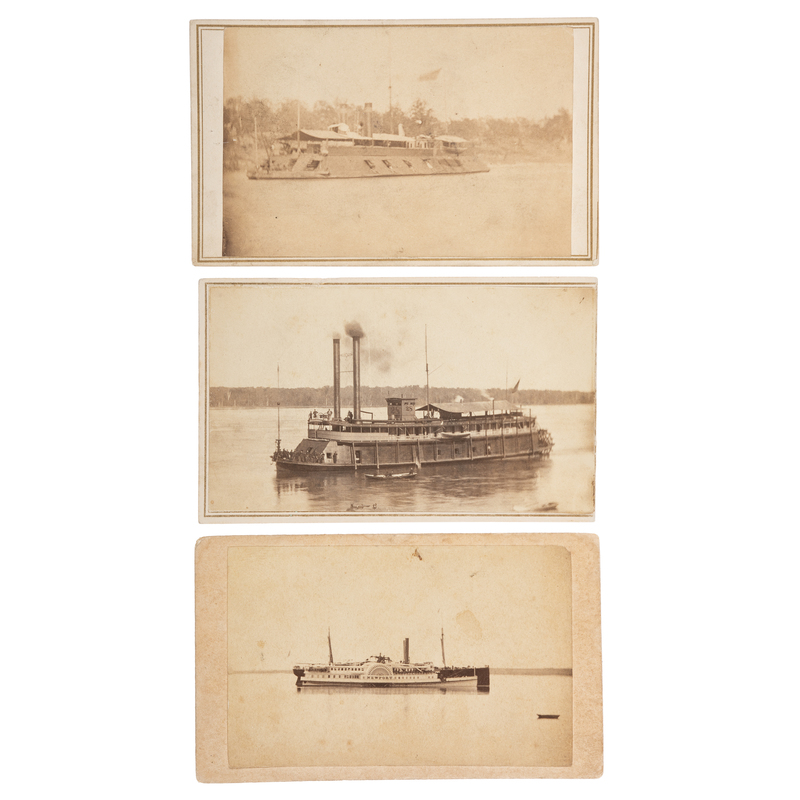 CDVs of Brown Water Navy Warships, Incl. USS Silver Cloud and Louisville