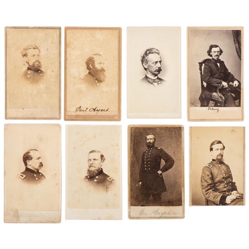 Civil War CDV Collection of Gettysburg Generals