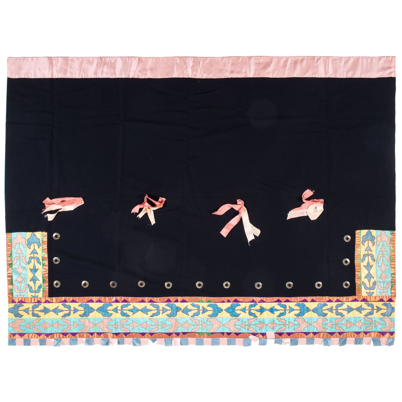 Osage Ribbon Blanket, From the Collection of Nick and Donna Norman, Colorado
