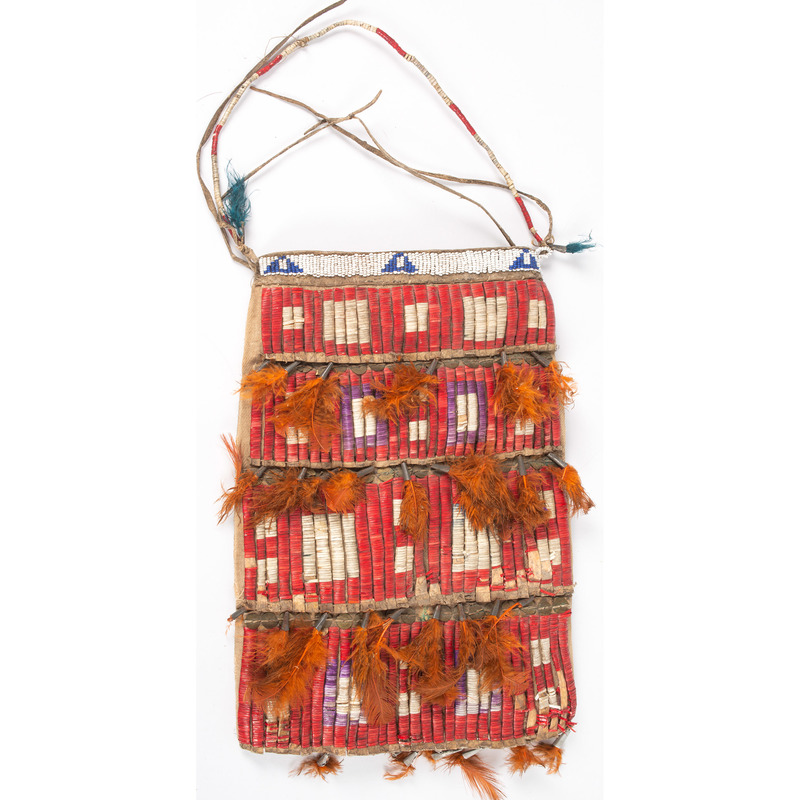 Sioux Beaded and Quilled Bag, From the Collection of Nick and Donna Norman, Colorado