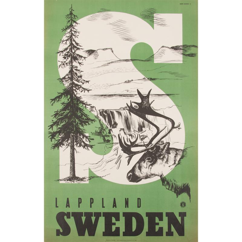Anders Beckman (Swedish, 1907–1967) Lappland Sweden