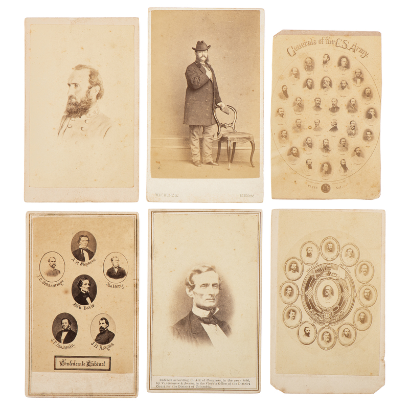 Confederate and Southern CDV Collection