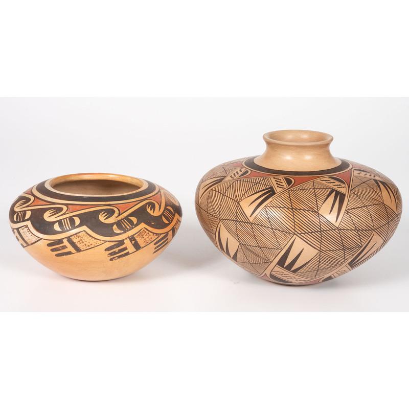 Fannie Nampeyo (Hopi, 1900-1987) and Tonita Nampeyo (b. 1934) Pottery
