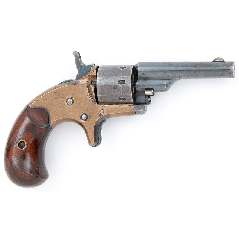 Early Colt Open Top Revolver