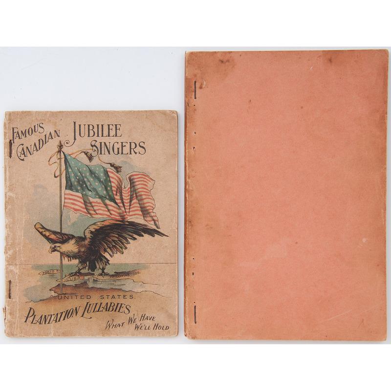 Famous Canadian Jubilee Singers Plantation Lullabies, ca 1900, Plus