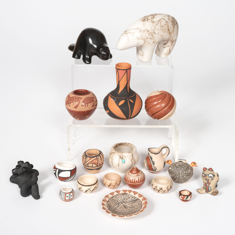 A Group of Small Southwestern Pottery