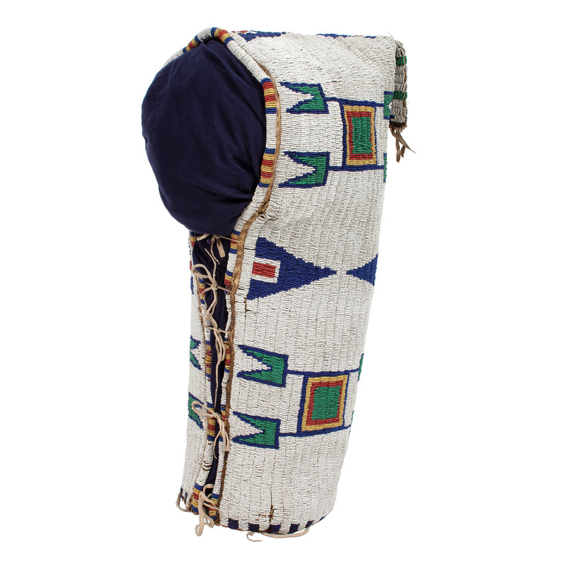 Sioux Fully Beaded Cradle