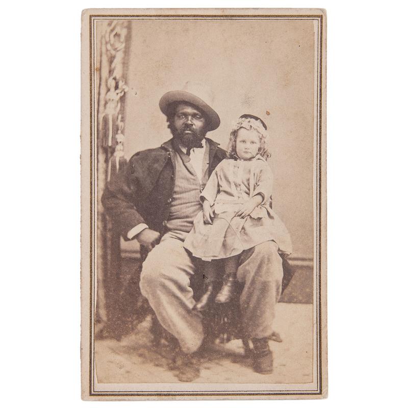 Mrs. Gulick's Adopted Son, Princeton, New Jersey, CDV, circa 1865