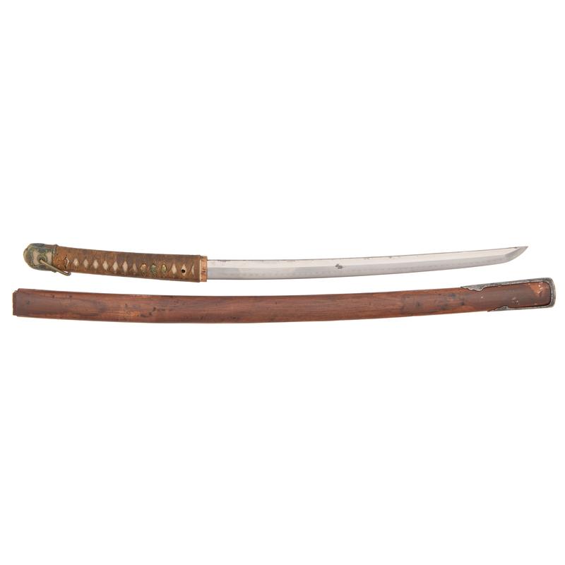 Japanese Samurai Sword (Wakizashi)