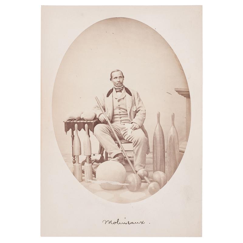 Portrait of Harvard's First African American Instructor, Aaron Molyneaux Hewlett, 1859