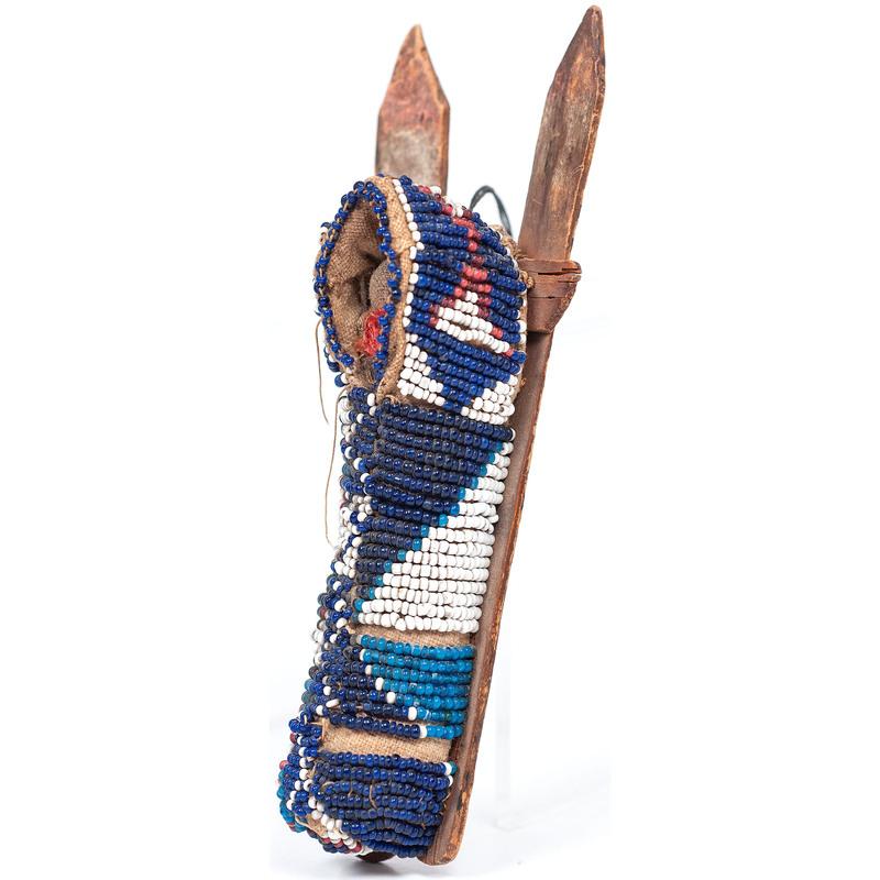 Kiowa Beaded Toy Cradle