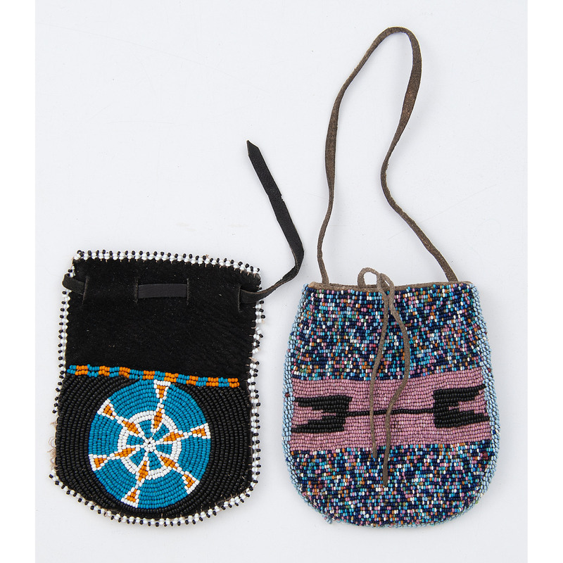 Southern Plains Beaded Pouches